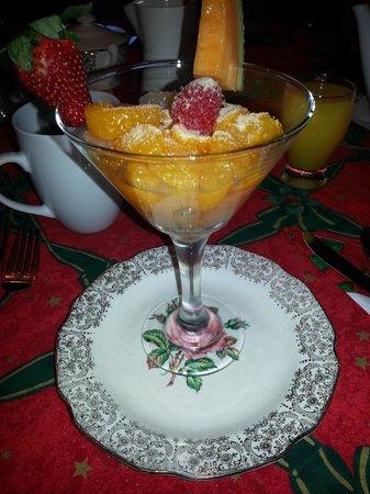 Gite La Petite Douceur: Breakfast