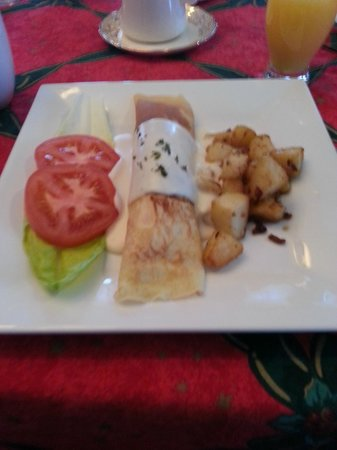 Gite La Petite Douceur : Breakfast