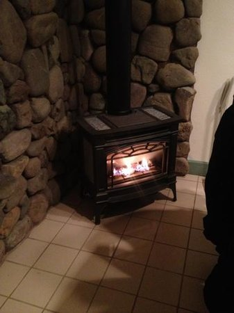 Lost Mountain Lodge : electric stove