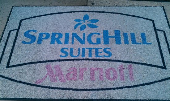 SpringHill Suites Napa Valley: Front door carpet