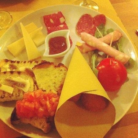 Le Fate Restaurant: l'assiette apéro