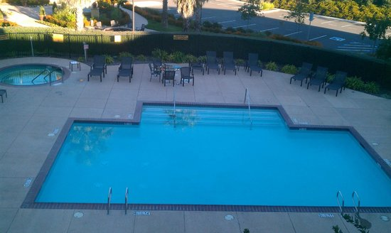 SpringHill Suites Napa Valley : View outside our 3rd floor room