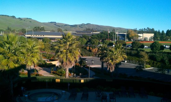 SpringHill Suites Napa Valley: View outside our room