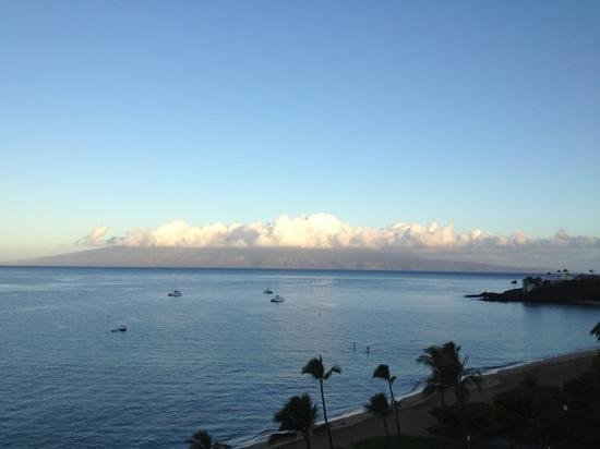 The Westin Maui Resort & Spa: view from deluxe ocean view