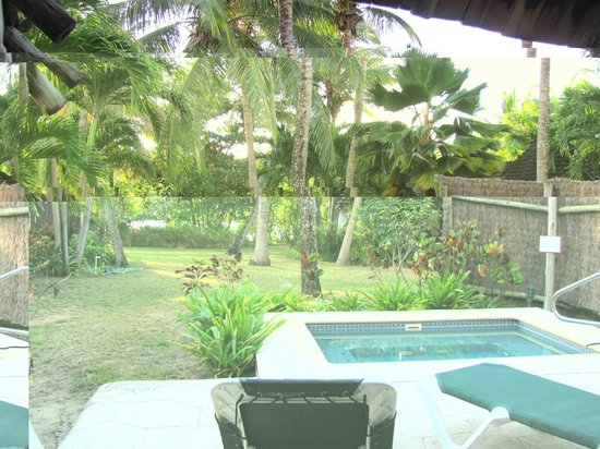 Galley Bay Resort: Our little garden