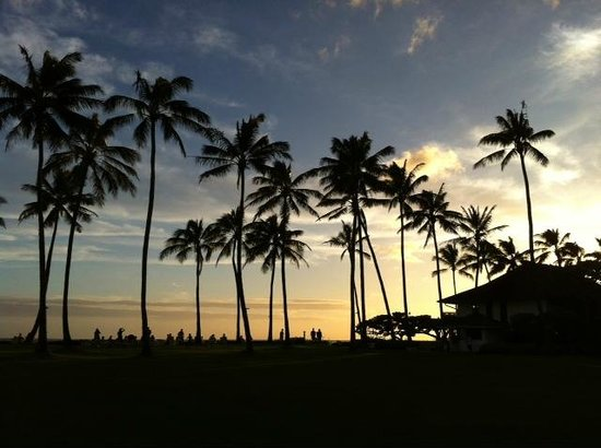 Kiahuna Plantation Resort: sunset