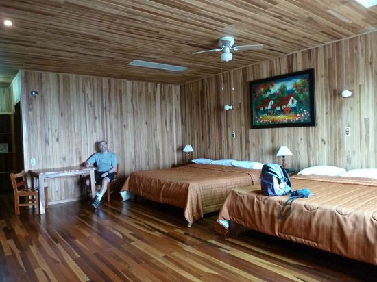 Heliconia Hotel: A room in 500 lodge
