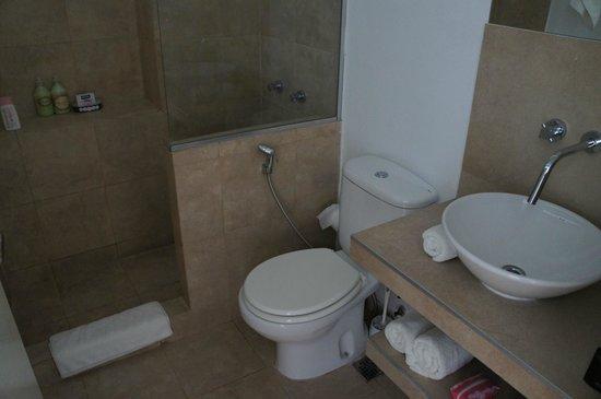 Querido B&B: Banheiro super limpo e novinho