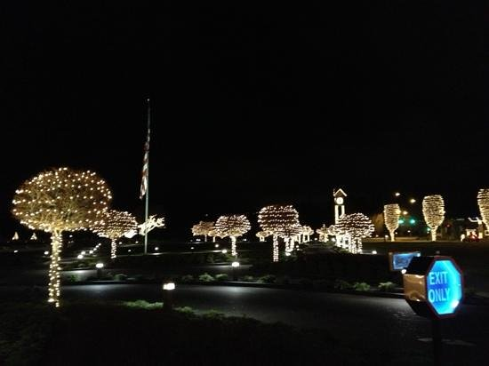 The Coeur d'Alene Resort: holiday time