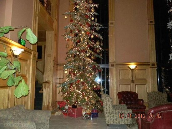 Bonneville Hot Springs Resort & Spa: 2012 Christmas Tree