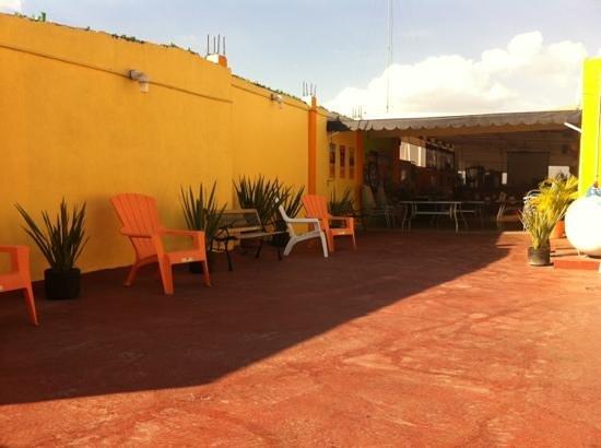 Hostel Amigo Suites: dakterras