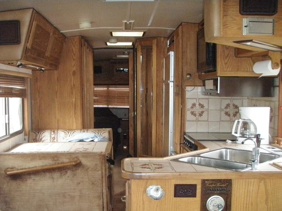 Flaming Gorge Recreation Services: Inside of same horrible RV
