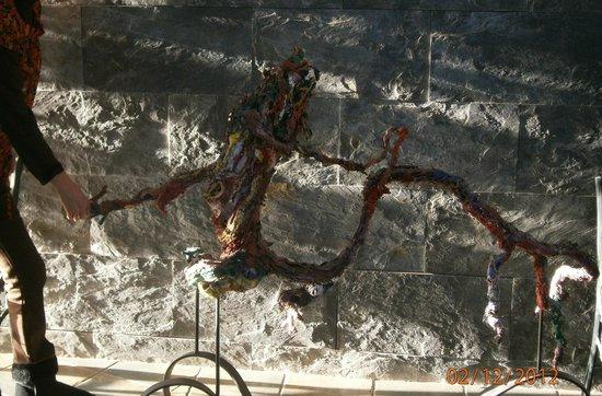 Hotel Conde de Badaran : Arte en el hotel