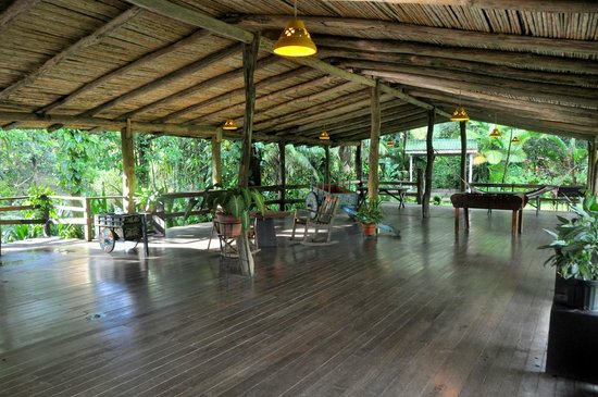 Chachagua Rainforest Eco Lodge: Rec room