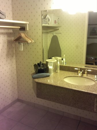 The Orleans Hotel & Casino: Basic bathroom