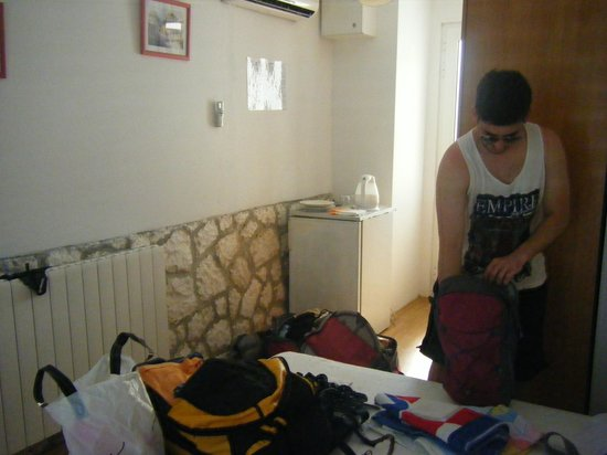 Youth Hostel Villa Marija: Our lovely, clean room