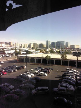 The Orleans Hotel & Casino: View out the room looking toward Las Vegas Strip