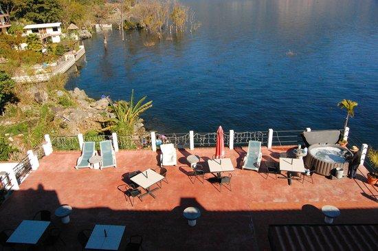 Mikaso Hotel Resto: terrasse