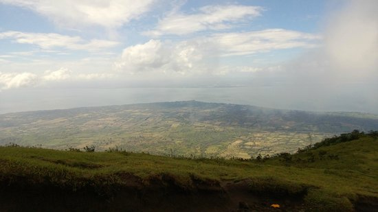 Volcán Concepción: View from about 1000m up. Beautiful!