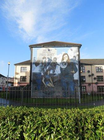 Republican Murals: Bernadette Devlin