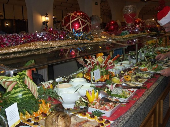 Hotel Riu Monica: Christmas buffet dinner