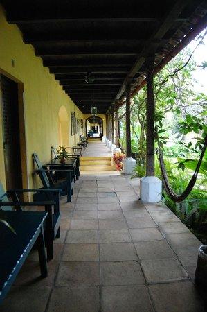 Hotel La Posada: la véranda