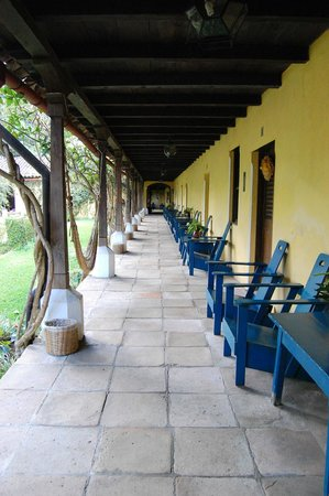 Hotel La Posada: le patio