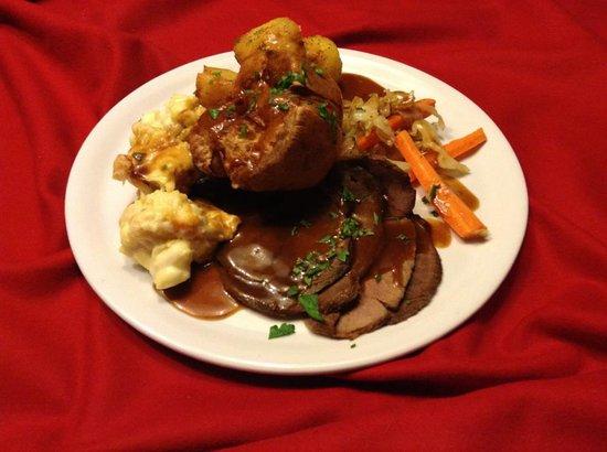 Chaplins: My Roast beef last sunday