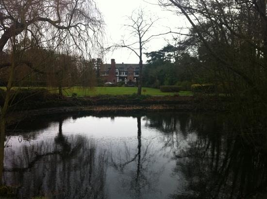 Inglewood Manor: The View of the Hotel from the Pond