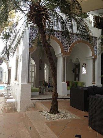 Santorini Hotel Boutique Santa Marta: salon turco