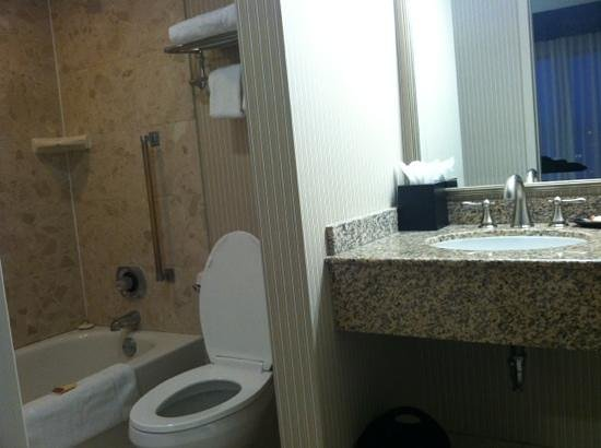 Sheraton Suites Columbus: Bathroom