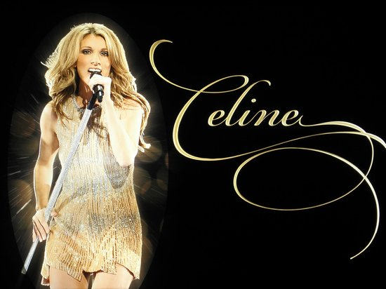 Celine Dion at the Colosseum at Caesars Palace: Concert Poster