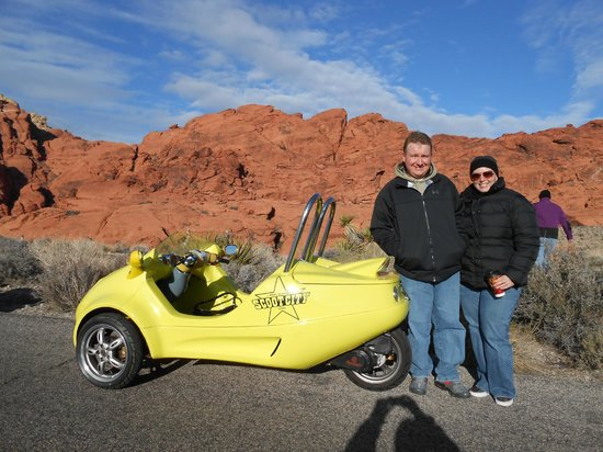 Scoot City Tours: Red Rock scooter tour