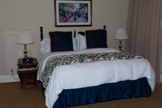 Historic Hotel Bethlehem: Nice linens