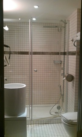 Hotel Saint Christophe: Superior double room with shower