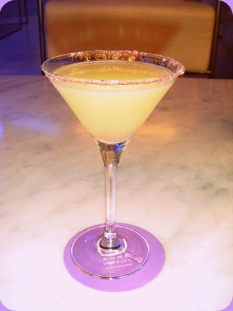 Ayre Hotel Caspe: Margarita at the hotel's bar