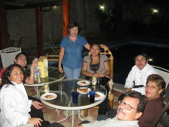 Yucatan Vista Inn: Silvia´s birthday