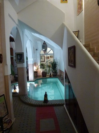 Riad Limouna: Entrée