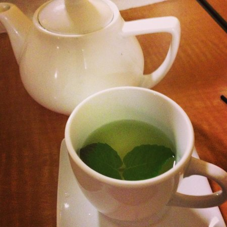 Chic N Fish : Green tea with mint