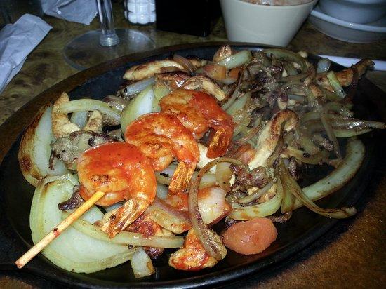 El Tejado Mexican Restaurant: Texas Fajitas