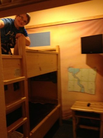 Great Wolf Lodge: Bunk Bed in Kids Cabin