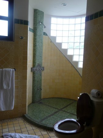 Arenas del Mar Beachfront & Rainforest Resort: master bath shower