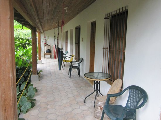 Hotel & Restaurant Guancascos: Rooms uphill are quietest
