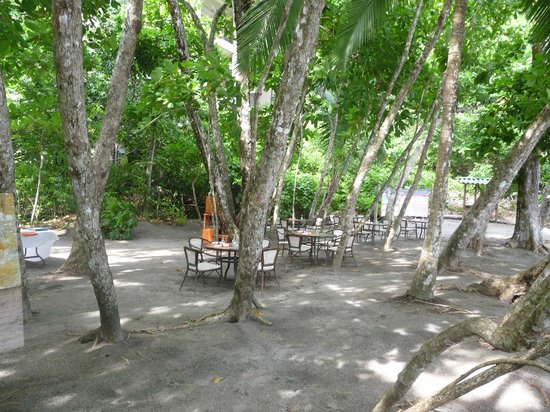 Arenas del Mar Beachfront & Rainforest Resort: Beachfront casual dining