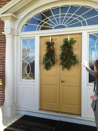 James Madison's Montpelier: The main door