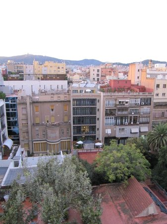 Alma Barcelona: View from La Pedrera of the hotel