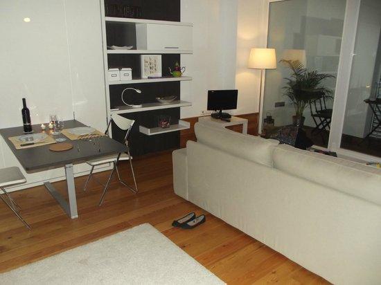DesignOportoFlats: Sala/quarto