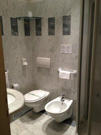 Palazzo dal Borgo Hotel Aprile: Camera 11: vista bagno