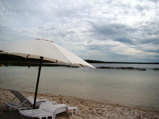 Rancho Laguna Blanca: Typical beach accomodations