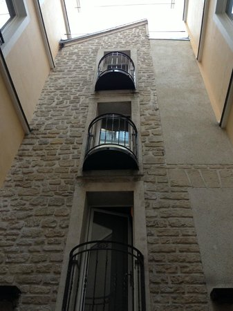 Hotel Atmospheres: Interior courtyard